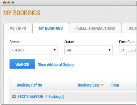 TravelCarma Tour Booking Reporting